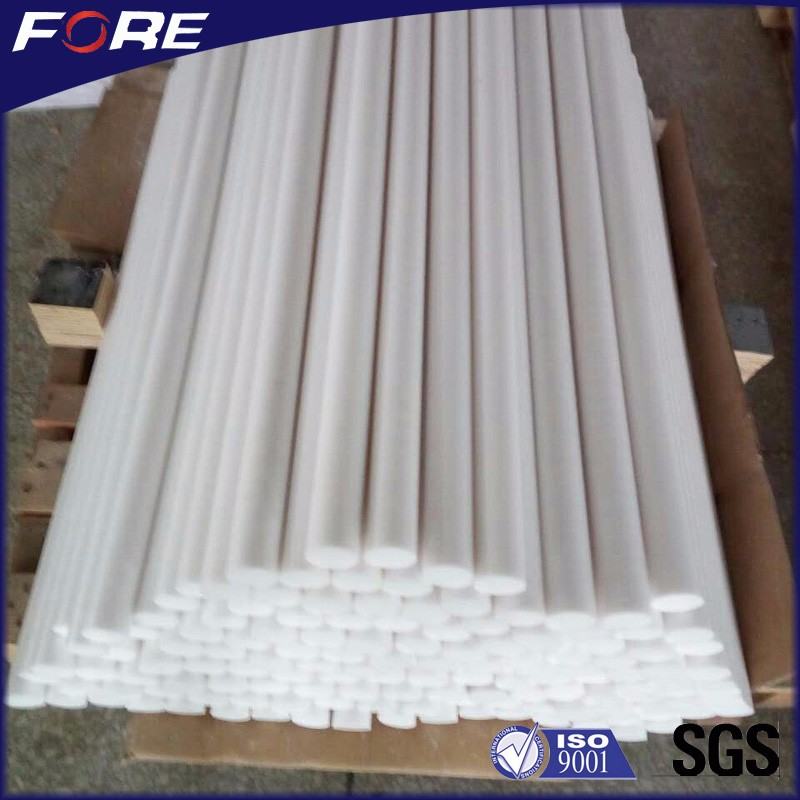 5mm - 350mm Diameter 100% Pure Virgin White Round Solid PTFE Teflon Rod