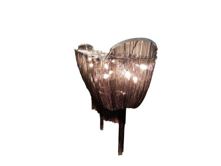 Kronleuchter Mit Langer Kette ~ China großhandel hause beleuchtung dekorative silber big