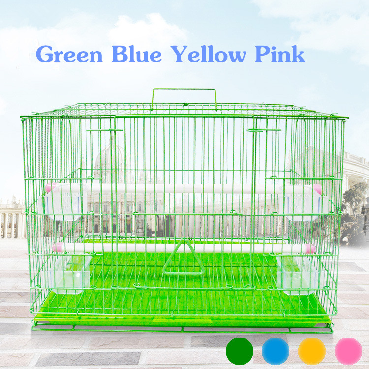New Quality Four Colors Overstriking Bird Cages Pet House Cages