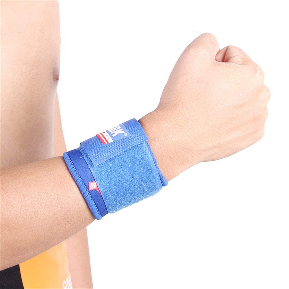 Aobiny Bracers, Wrist Adjustable Bandage Support Brace Wrap Strap Sport Hand Guard Sport Protect