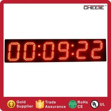 6 Inch 6 Digits Large Multifunctional Digital Countdown Wall Clock