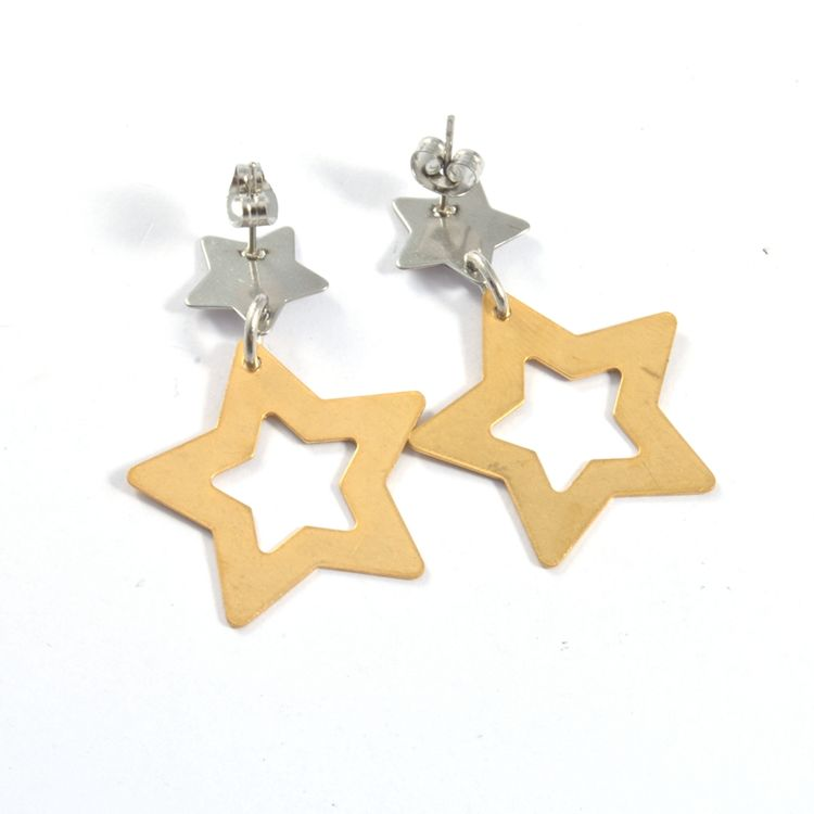 New Hot Fashion High Quality star style drop earring