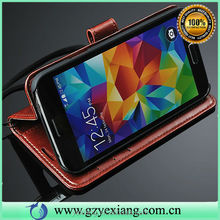 Wholesale Vertical Flip Leather Case For Samsung Galaxy S4 I9500