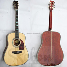 Weifang Rebon 41 inch D45 All solid Acoustic electric guitar