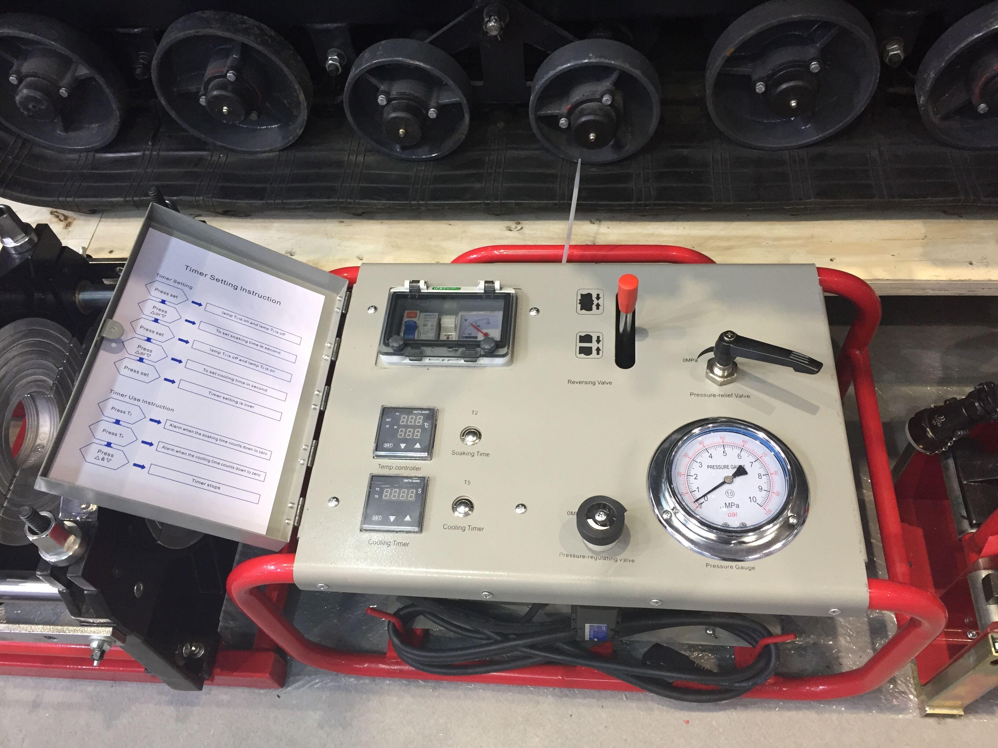 SDD250 Thermofusion pijp lassen machine voor hdpe lassen