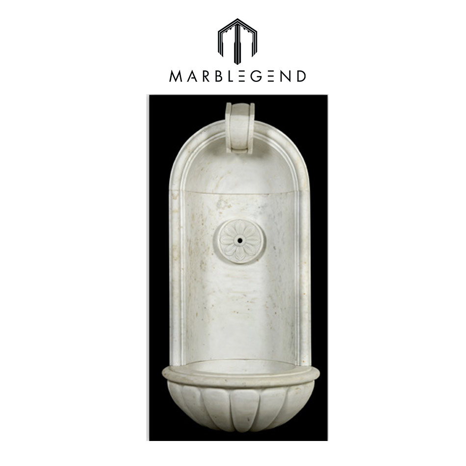 PFM marble stone water wall fountain