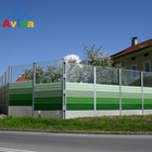 Noise Absorbing Aluminum Barrier Fence Highway Soundproof Wall