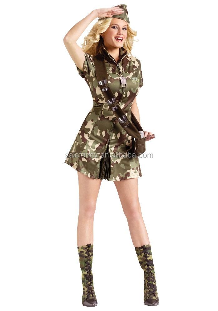 Best Seller Women Fancy Dress Military Dance Costume Qawc-5912 ... 27a14765d9