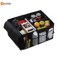 Multipurpose Folding Car Cargo Container Trunk Car Storage Organizer
