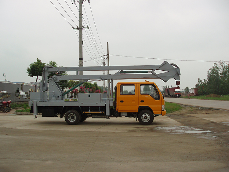 High-altitude Operation Truck high up truck JAC 4X2
