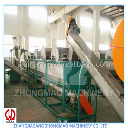 used films PP/PE HDPE washing line