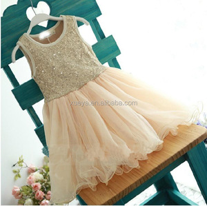 Boutique fashion unique sequins many colors wholesale kids tutu dress