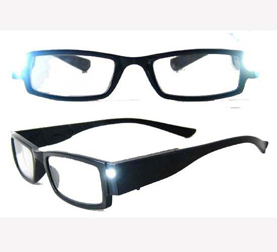 Classic Plastic CE LED Reading Glasses (RP104034- 1)