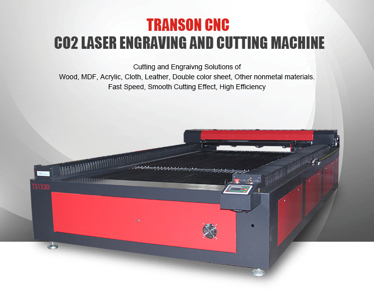 TS 1530 TS1325 cnc co2 acrylic laser cutting machine price