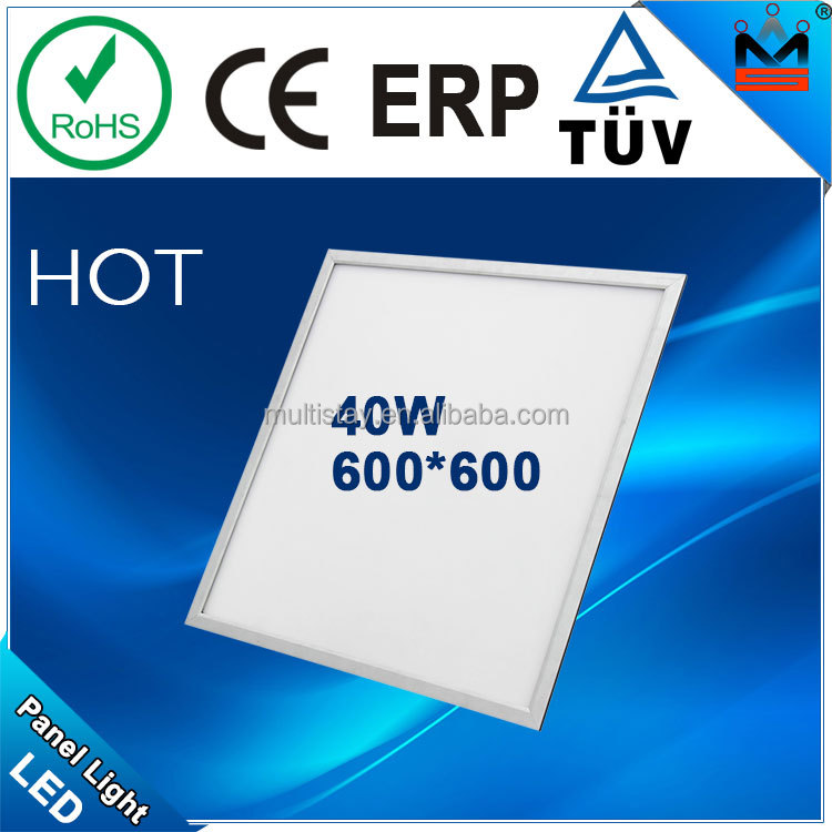 HOT!!! TUV CE RoHS 40W 600 600mm 3years warranty factory direct sales digital panel voltmeter dc5v led display