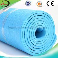 blue color yoga mats pvc eva ygoa mat manufacturing company 1 piece free