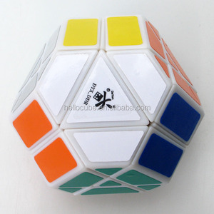 DaYan Gem Cube V V5 Magic Cube White Abnormality Cube kids toy Wholesale China