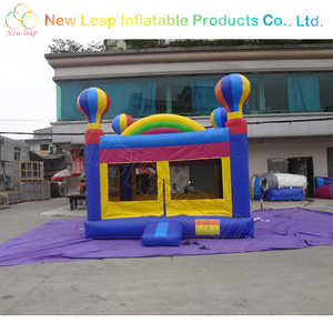 rainbow bounce house for children inflatable balloon bouncer