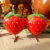 Shopping New Product Fiberglass Resin Fruit Strawberry Sculpture For Garden Home Decor