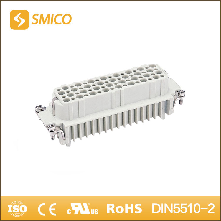SMICO Popular Items HD Series 64pin Heavy Duty Industrial Screw Terminal Din Connector