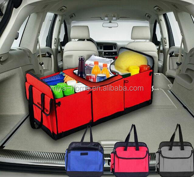 High quality Non-woven fabrics car trunk storage bag / Folding Car Trunk organizer / car tools storage bag