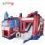 Inflatable car slide combos bouncer slide jump games inflatable bouncer