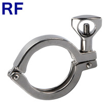 RF Sanitaire SS304 1.5 ''Tri Clamp Enkele Pin Heavy Duty Clamp