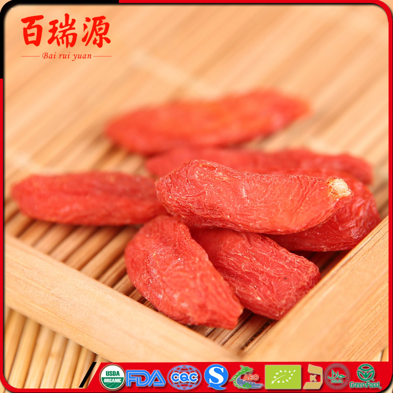 GOJI BERRY ORGANIC 2017 Ningxia Lycium barbarum dried goji gerries