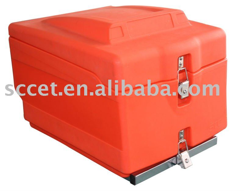 45L Rotomolded Insulated Pizza Delivery Boxes w/ Rack