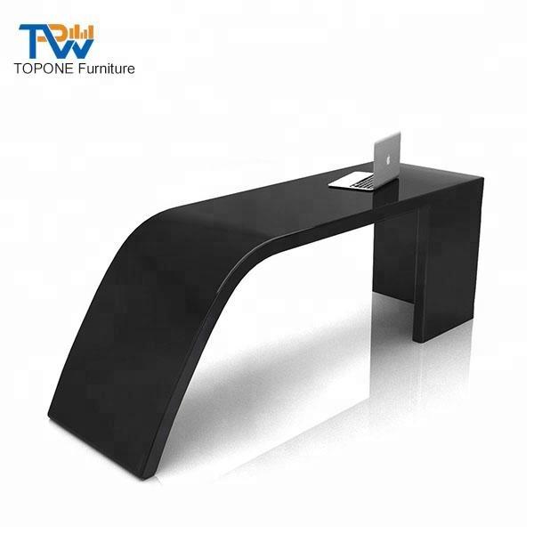 huge selection of febe2 d3471 Modern Office Furniture Curved Simple Black Office Table Desk Design - Buy  Office Table Desk Design,Curved Office Table Design,Office Black Office ...