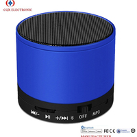For S10 BT 3.0+EDR Wireless small round Mini metal Speaker