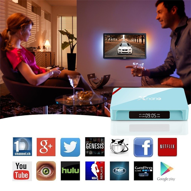 X96 Pro Adroid 6.0 TV Box Amlogic S905X Kodi 16.1 Android TV Box