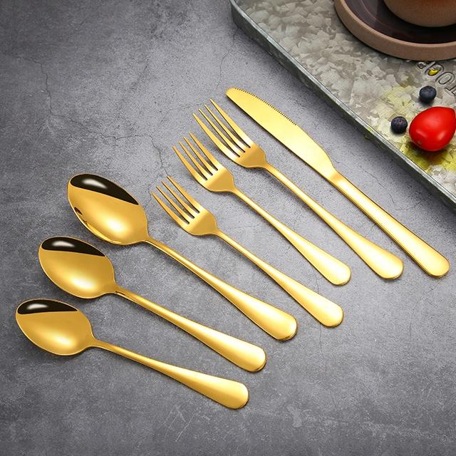 Нержавеющая сталь дома Европейский дизайн Западная посуда серии стейк нож ложка Вилка Набор столовых приборов
