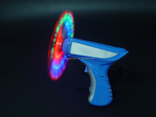 Flashing Rainbow Gun with Music