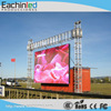 Outdoor transparent led portable HD video curtain display