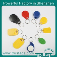 Trustags free samples programmable passive rfid key tag