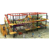 KAIQI New Style Rope Net Climbing Supermarket children favorite attractions plastic outdoor playground equipment