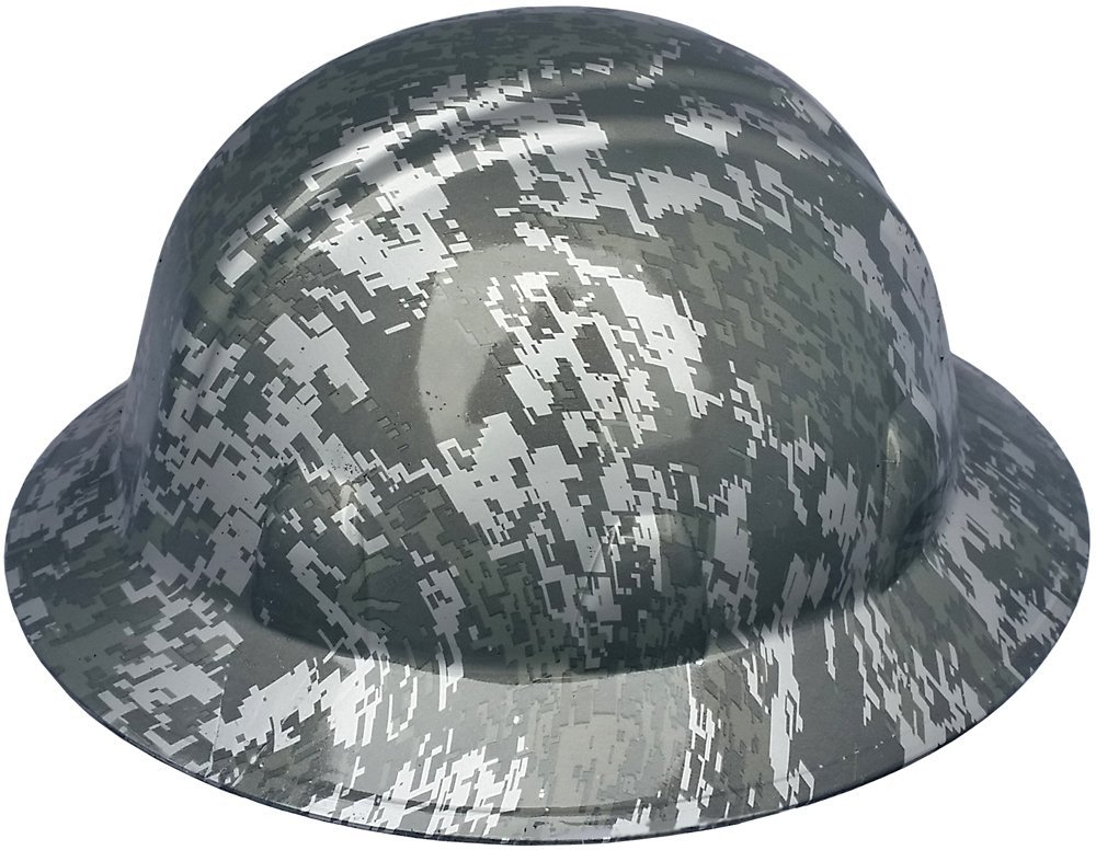 Texas America Safety Company Digital Camo Full Brim Style Hydro Dipped Hard Hat