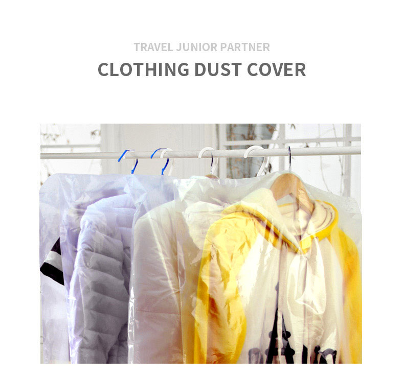 Waterproof Clothing Suit Dust Cover OPP plastic Coat Cover New Design Wholesale Hot Selling plastic bags