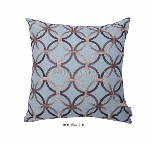 China wholesale mesh pattern plush wholesale decorative throw pillows for sofa