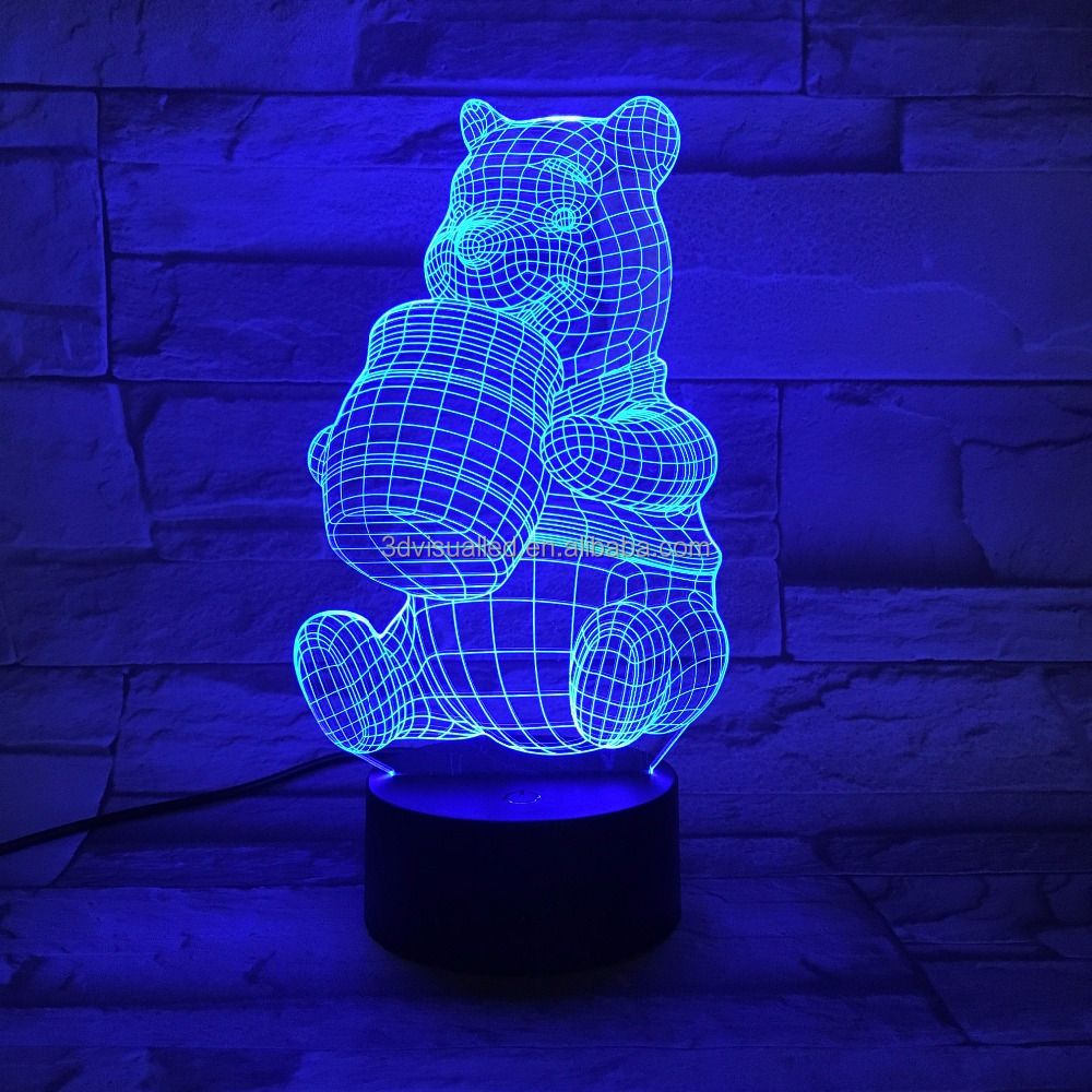 laser engraving 3D design toilet night light