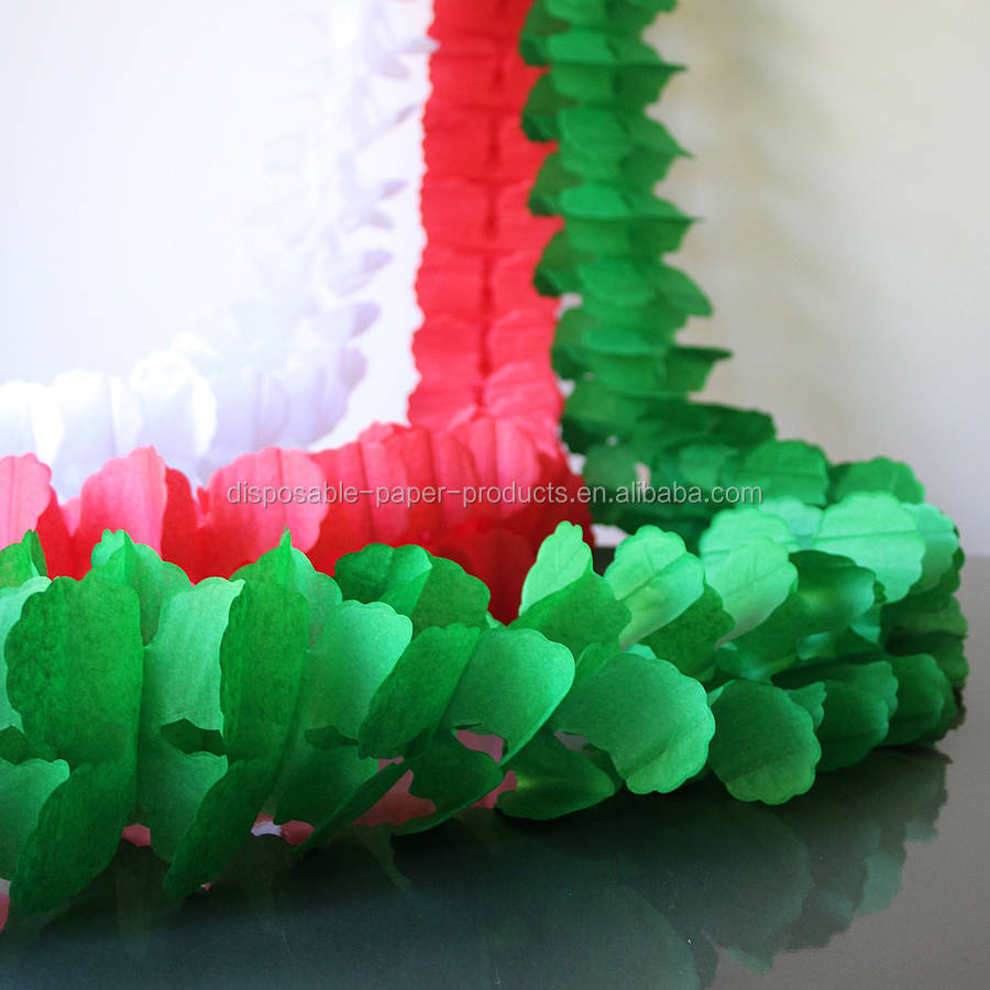Christmas Paper Garland Decorations Christmas Decorations 2019