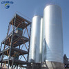 Professional galvanized corrugate bulk material silo for sale