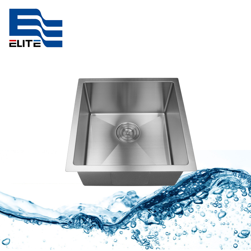 18 x 18 Stainless Steel Sink laundry sink single bowl