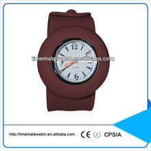 Silicone slap wrap watch colorful children watches
