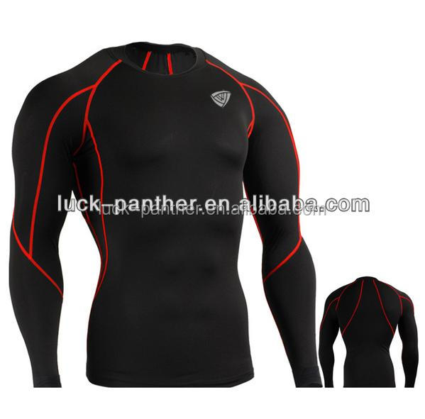 quality polyester printed guard custom logo design your own rash guard