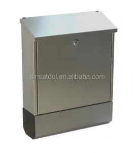Modern design wall mounted stainless steel mail box letterbox post box