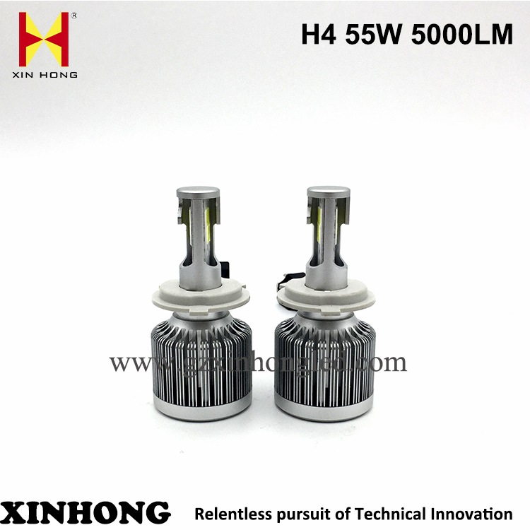 55w 5000lumen head lights for cars motorcycle led head light lamp led headlight h4 for t oyota avanza