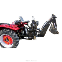 farm tractor perfect quality 3 point backhoe attachment