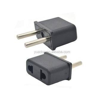 Ce Rohs Approve Small Size 48mm 2 Pins Eu Euro European Plug